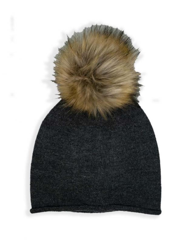 Lunne Hat, Acrylic Pom Pom