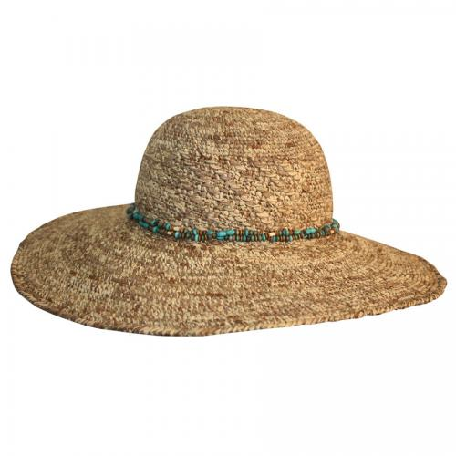 Misty Wide Brimmed Summer Hat Woman