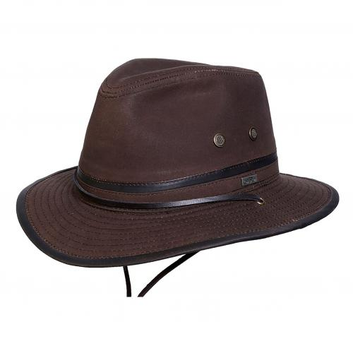 Mountain Trail Waxed Cotton Hatt