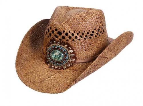 Navajo Western Bead & Feather Hatt Dam