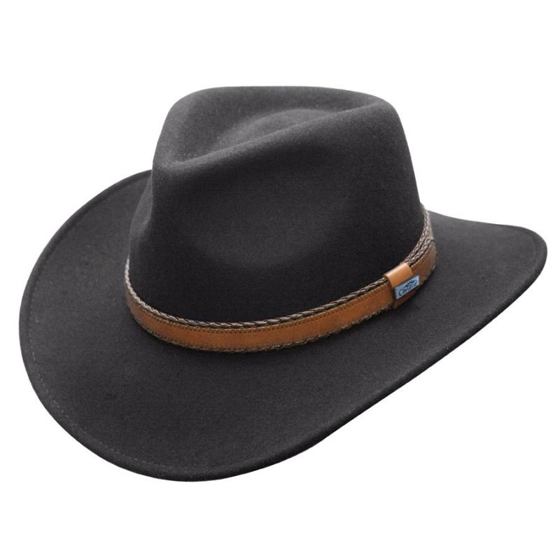 Outback Creek Crushable Wool Hat Men