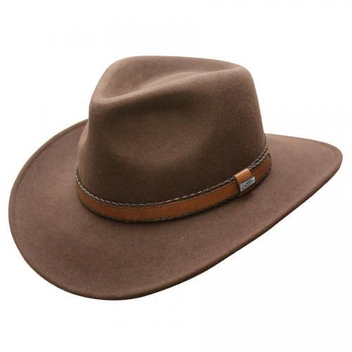 Outback Creek Crushable Wool Hatt Herr