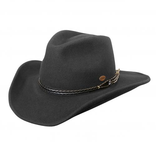 Outlaw Western Wool Hat