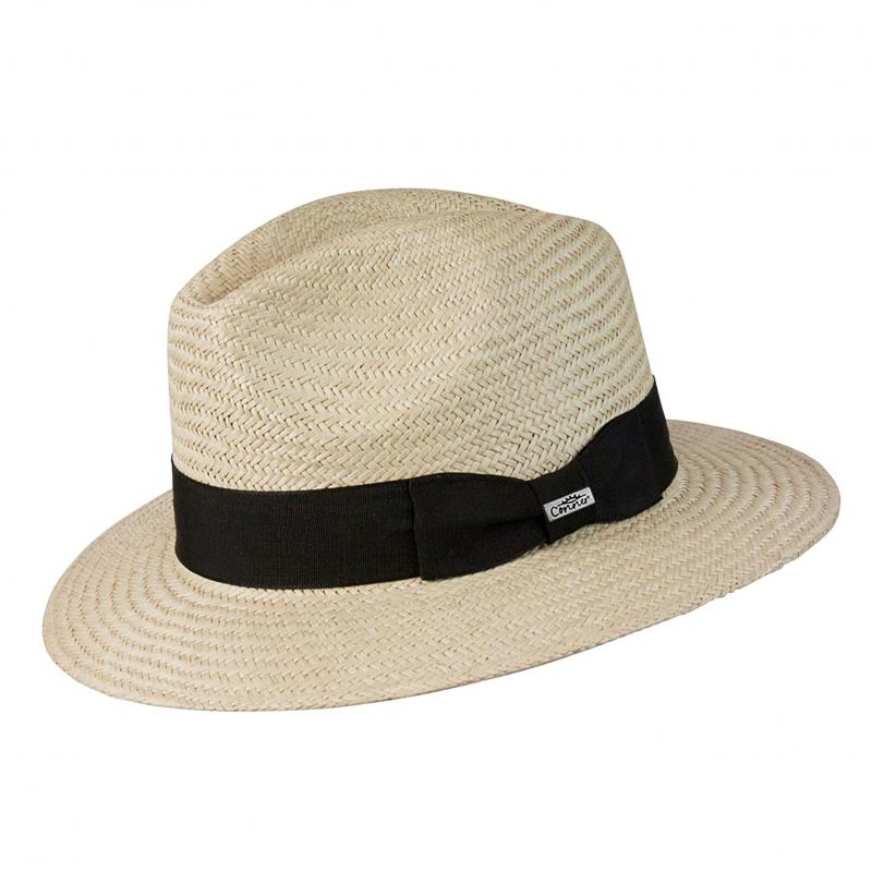Panama Vibe Safari Fedora Hat Men