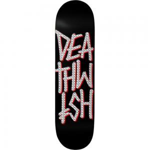 """Deathwish """"Deathstack"""" blk/holo foil  8"""""""