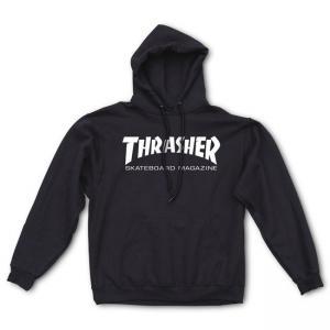 Thrasher Hood Skate Mag Black