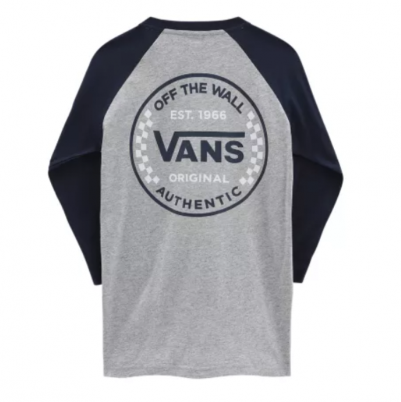 By Raglan Authentic Checker Athletic Heather