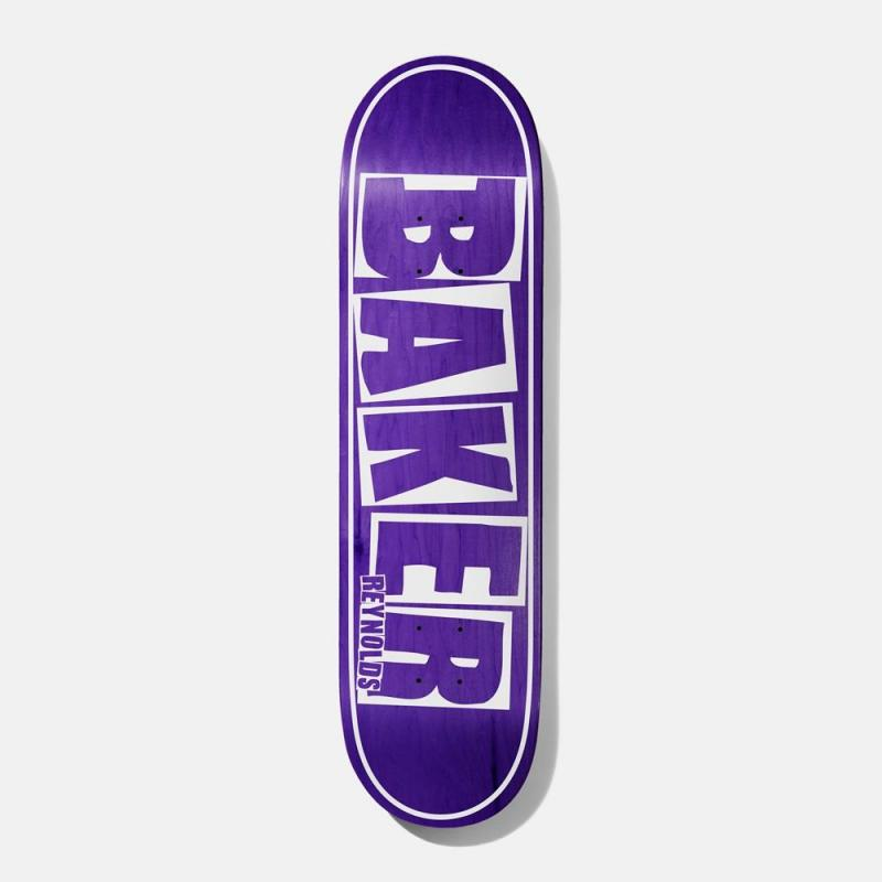 "Baker Reynolds ""Brand Name"" purple  8,125"""