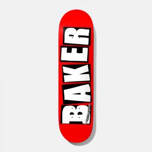 """Baker """"Brand Logo"""" white  8"""""""