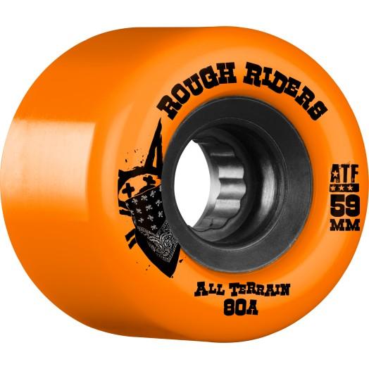 Bones Atf Rough Riders Orange 59mm