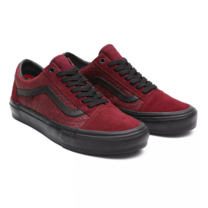 MN Skate Old Skool (BREANA GEERING) PORT/BLK