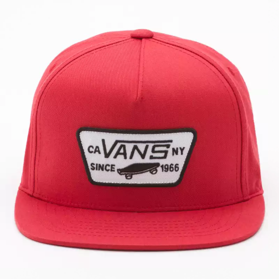 BY FULL PATCH SNAPBACK BOYS RACING RED