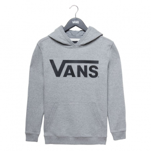 By Vans Classic Po Hoodie Ft Boys Cement Heather
