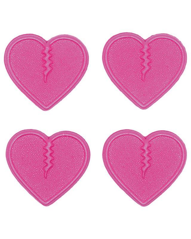 Crab Grab Mini Hearts Pink