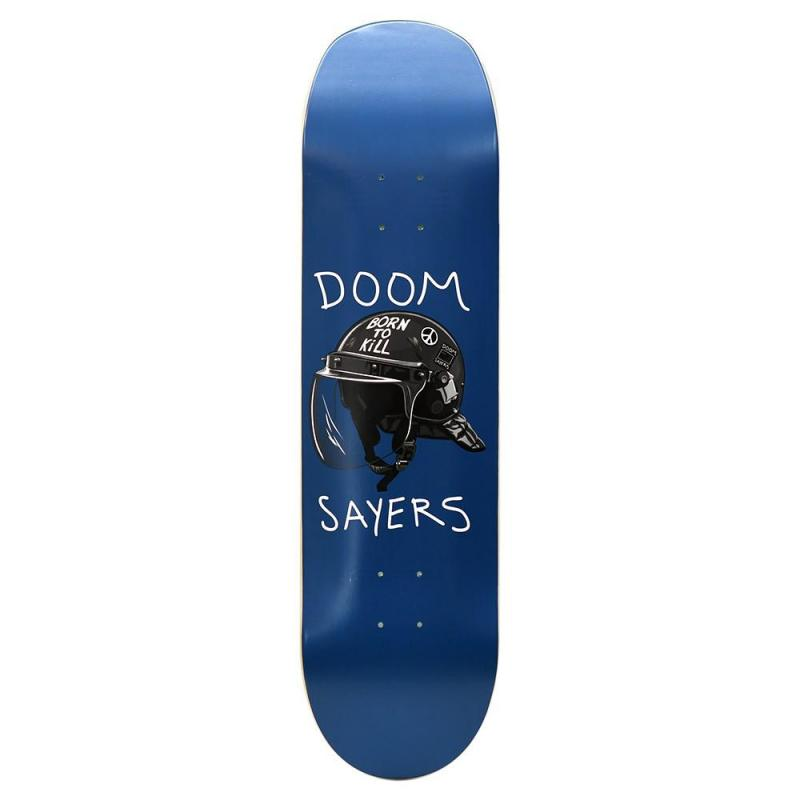 Doom Sayers Club - Riot Helmet 8,4 Shovel Nose Blue