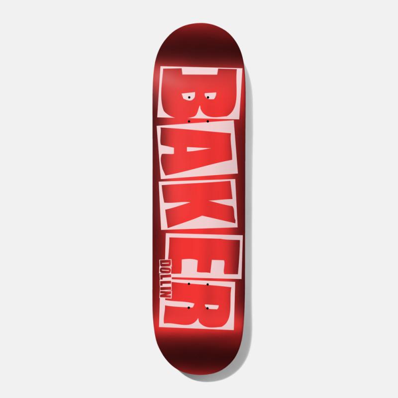 Baker Dollin Brand Logo Red Foil B2 8,25