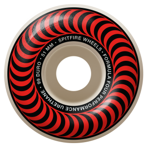 Spitfire F4 Classic 99 51mm Red