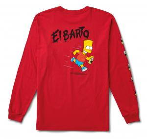 VANS X THE SIMPSONS EL BARTO LS, (the simpsons) el