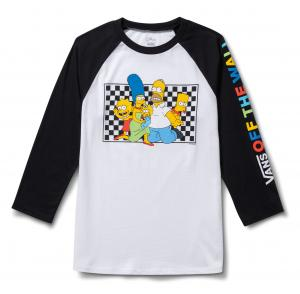 VANS X THE SIMPSONS FAMILY RAGLAN, (the simpsons)