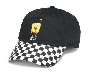 WM VANS X SPONGEBOB COURT SIDE HAT (SPONGEBOB) BLACK