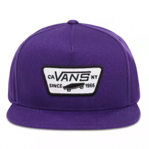 MN FULL PATCH SNAPBACK Heliotrope