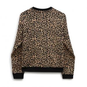 GR LEOPARD CREW GIRLS Leopard
