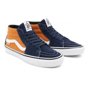 MN Skate Grosso Mid Navy/Orange