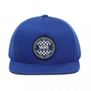 BY OG CHECKER SNAPBACK BOYS SODALITE BLUE