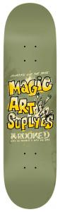 """Krooked  """"MAGIC ART SUPPLYES"""" 8,75"""""""