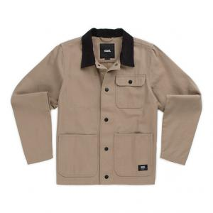 By Drill Chore Coat Boys Military Khaki