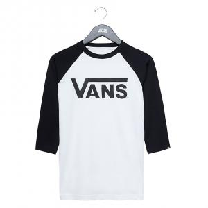 BY VANS CLASSIC RAGLAN BOYS WHITE-BLACK