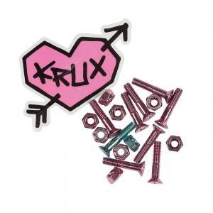 """Krux Skruvset Phillips 1"""" Pink"""