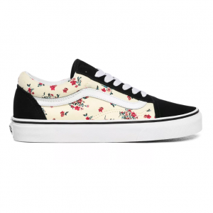 UA Old Skool, (ditsy floral) classic white/true wh