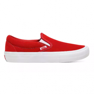 MN Slip-On Pro (Suede) red/white