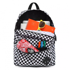 OLD SKOOL III BACKPACK, black-white check
