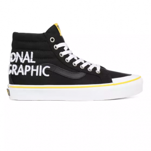 UA SK8-Hi Reissue 138 (NATIONAL GEOGRAPHIC)LOGO