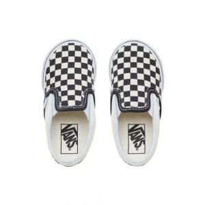 TD Classic Slip-On Blk&WhtChckerboard/Wht