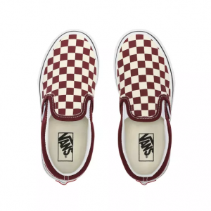 UY Classic Slip-On, (checkerboard) port royale/tru