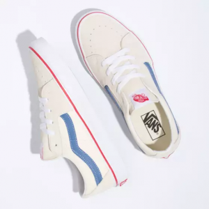 UA SK8-Low, classic white/navy
