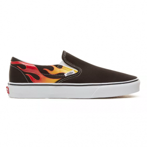 UA Classic Slip-On, (flame) black/black/true white