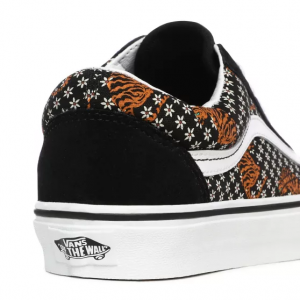UA Old Skool, (tiger floral) black/true white