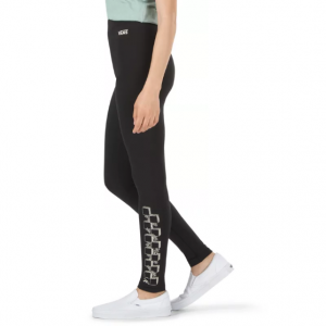 HEART LIZZIE LEGGING, black