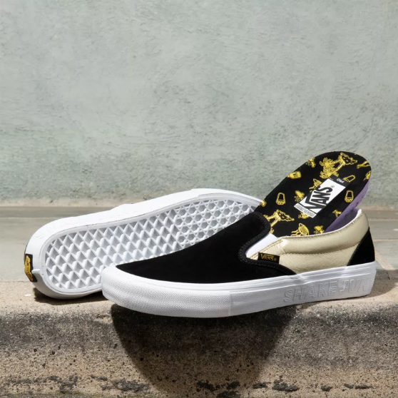 MN Slip-On Pro, (shake junt) black/gold