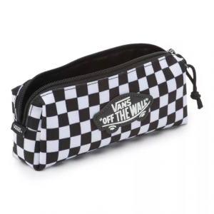 OTW PENCIL POUCH BOYS, black-white check