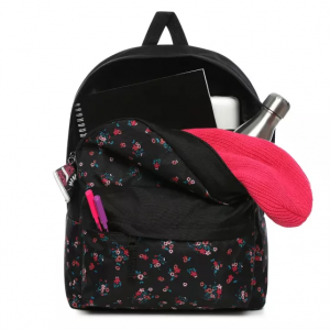 REALM BACKPACK, beauty floral black