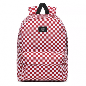 OLD SKOOL III BACKPACK, chili pepper checkerboard