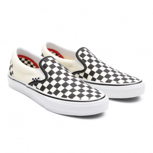 MN Skate Slip-On (Checkerboard) black/off