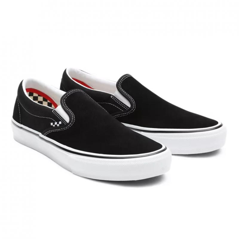 MN Skate Slip-On Black/White