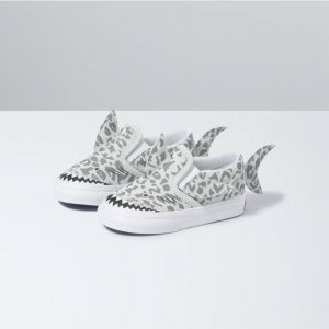 TD Slip-On V Shark LEOPARD SHARK