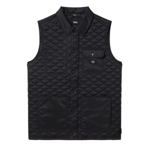 MN Drill Chore Vest Black